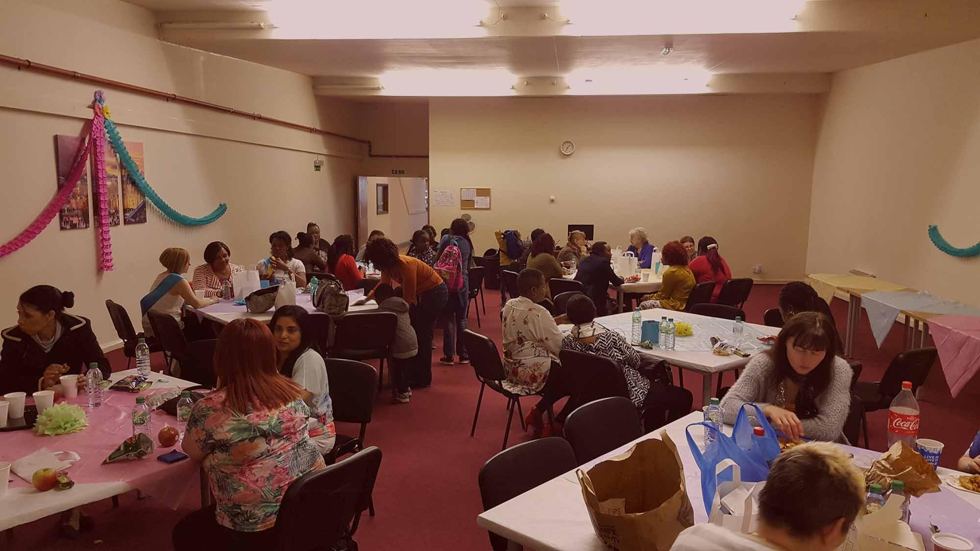 Ladies meeting at Hebron